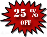Receive 25% off of all log analyzers